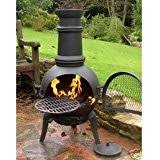 amazon black friday fire pits amazon co uk chimineas outdoor heaters u0026 fire pits garden