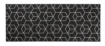 tapis de cuisine casa industrial tapis de cuisine noir larg 67 x 150 cm produits
