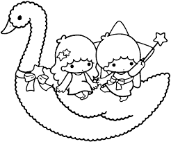amazing little twin stars coloring pages 15 in coloring pages for