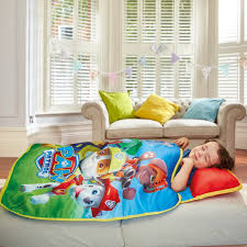 paw patrol cosywrap nap blanket readybed
