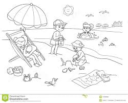 children playing in the park clipart black and white clipartxtras