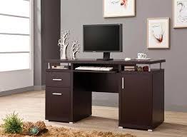 Contemporary Computer Desks Brown Computer Desk Co 107 Computer Desks