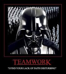 Teamwork Memes - image 65016 i find your lack of faith disturbing know your meme