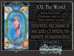 world tarot card meanings