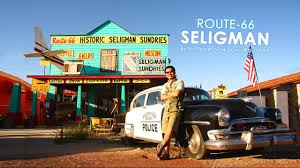 Show Route 66 Usa Map by Seligman The Birthplace Of Route 66 Youtube