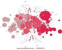 set vector blots blobs splashes paint stock vector 470459003