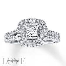 kay jewelers class rings jared vera wang love 1 1 2 carat tw diamonds 14k white gold ring