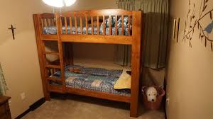 Hardwood Bunk Bed 31 Diy Bunk Bed Plans Ideas That Will Save A Lot Of Bedroom Space