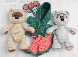 teddy bears honey teddy bears in crochet pattern amigurumi today