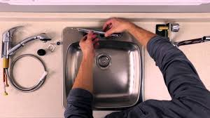 Kitchen Sink Faucet Installation by Rona How To Install A Kitchen Faucet Youtube