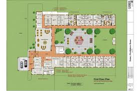 Fire Station Floor Plans Nursing Home Design On 3401x2201 Nursing Home Floor Plans