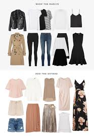 Wardrobe Tips How To Build A Capsule Wardrobe Flip And Style Australian