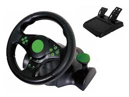 xbox 360 steering wheel kabalo gaming vibration racing steering wheel 23cm and pedals
