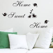 popular home sweet home wall sticker buy cheap home sweet home