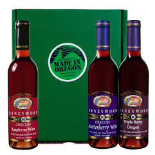 wine gift sets honeywood berry wines gift set made in oregon