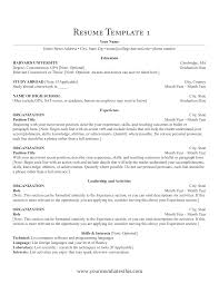 standard format of resume download resume format write the best resume blank resume format sample