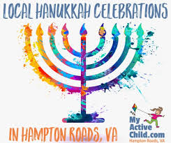 my hanukkah local hanukkah celebrations my active child