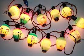 figural light bulbs lantern novelty lights