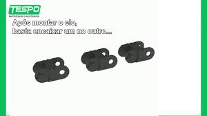 Muito Como Montar Esteira Porta Cabos - YouTube #HG67