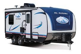 mt mckinley toy hauler floorplans riverside rv
