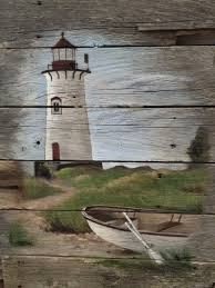 pallet art lighthouse driftwood art pinterest pallet art
