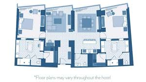 Borgata Casino Floor Plan Two Bedroom Penthouse Suite In Las Vegas Aria Resort U0026 Casino