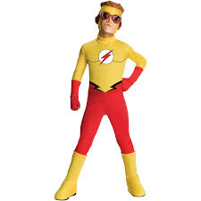 young justice kid flash child costume buycostumes com