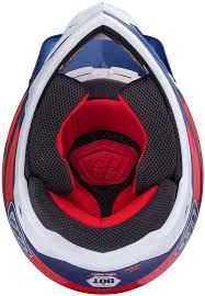 motocross helmet designs troy lee designs se3 neptune red white blue motocross helmets troy