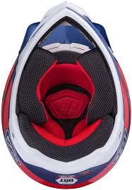 motocross gear wholesale troy lee designs se3 neptune red white blue motocross helmets troy
