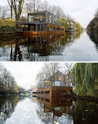 Houseboat Chip And Joanna Gaines 11 Awesome Examples Of Modern House Boats This Houseboat In