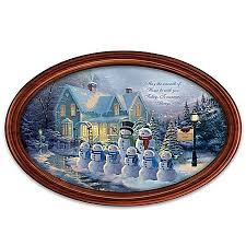 9 best kinkade collector plates images on