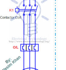 on off three phase motor connection power u0026 control