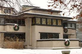 christmas done wright the prairie homes of oak park during the harry carmichael
