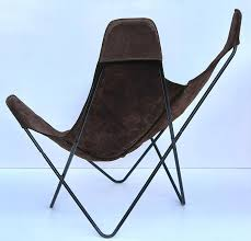 Butterfly Folding Chair Knoll Butterfly Chair By Jorge Ferrari Hardoy In Suede Leather For
