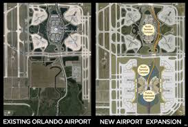 Mco Terminal Map Orlando Airport Expansion Plans Reveal Massive 100 Gate South