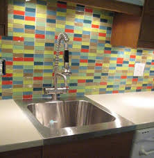 Kitchen Backsplash Photo Gallery D I Y Saturday 11 Installing A Glass Tile Backsplash Subway