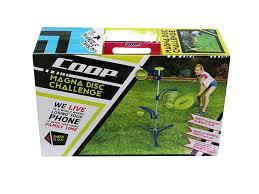amazon com coop magna flying disc challenge backyard game set