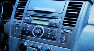 how to nissan versa car radio cd stereo removal 2007 2011replace