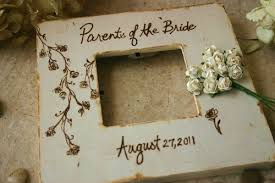 wedding gift photo frame wedding gifts for parents of and groom set of 3 rustic chic