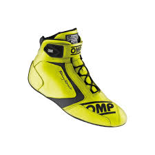 yellow boots s shoes kart racing and rally accessories omp racing