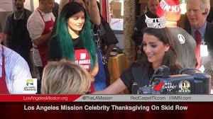 los angeles mission thanksgiving on skid row