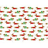 dachshund christmas wrapping paper dachshund wiener dog premium gift wrap wrapping paper