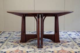 dining room appealing round expandable dining table with mahogany