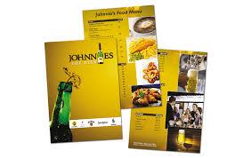 impressive brochure catalogue flyers menus design services