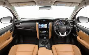 volkswagen touareg 2016 interior comparison toyota fortuner 4x4 gx 2016 vs volkswagen touareg