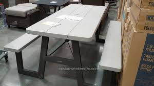 Folding Picnic Table Costco Outstanding Lifetime Tables Interior For