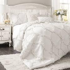 bedding set white bedding ideas stunning all white bedding white