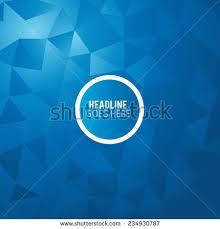Futuristic Design Futuristic Design Background Triangle Brochure Design Stock Vector