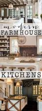 modern kitchen idea best 25 modern farmhouse kitchens ideas on pinterest farmhouse