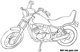 bike colouring pages happy for coloring